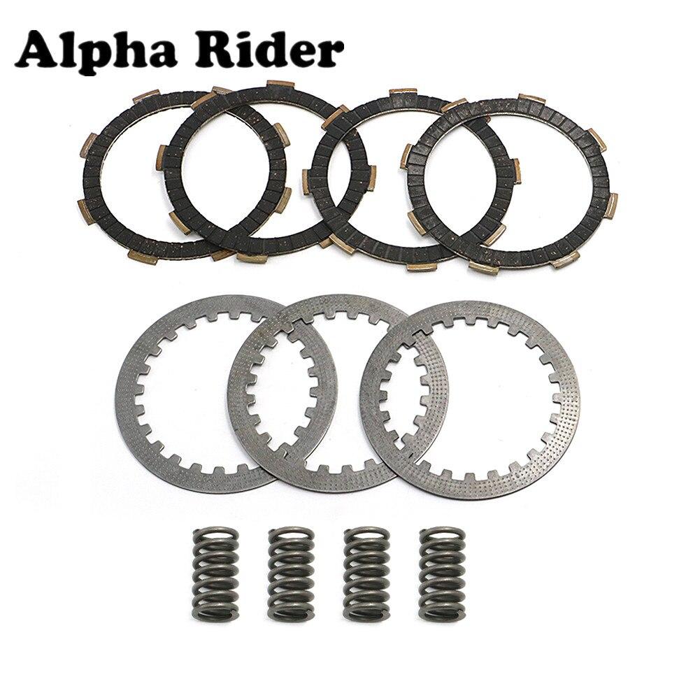 Комплект из 6 деталей, пластина сцепления с пружинами, фрикционные стальные пластины для Honda CRF100 XR100 XR80 CRF80 XR100R