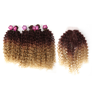 Synthetic Afro Kinky Curly Hai