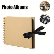 1PC Photo Album Scrapbook Paper DIY Craft Album Scrapbooking Picture Album Wedding Anniversary Gifts Memory Books Photo Sticker(China)