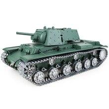 1:16 Soviet KV - 1 'S Heavy Tank 2.4G Remote Control Model Military Tank With Sound Smoke Shooting Effect 3 Edition printio soviet tank