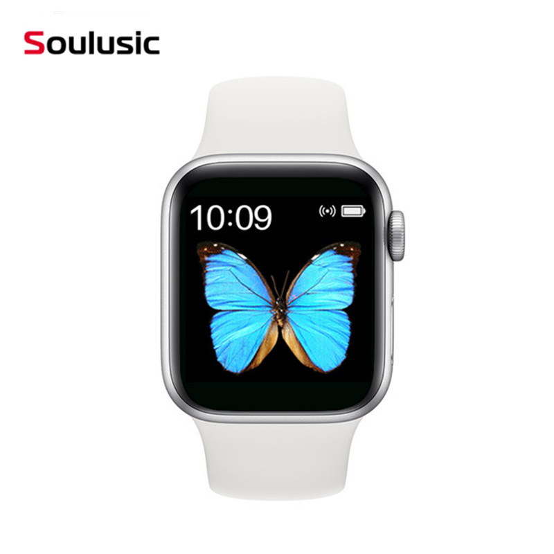 2020 Top <font><b>Smartwatch</b></font> Serie 5 IWO13 T500 Bluetooth Anruf 44mm Smart Uhr Herz Rate Monitor Blutdruck VS PK IWO 12 IWO 8 image