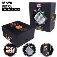 New Original Moyu 15x15x15 Magic Speed Cube Stickerless Professional Puzzle Cubo Migico15x15 Educational Toy For Kid Gift