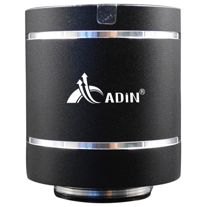 Adin bluetooth vibração alto-falante de controle remoto portátil rádio fm alto-falante sem fio 20w coluna b computador alto-falantes