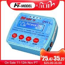 IMAX cargador de batería Digital B6 Mini V2 80W 7A, descargador de batería para Lipo Lihv LiIon LiFe NiCd NiMH