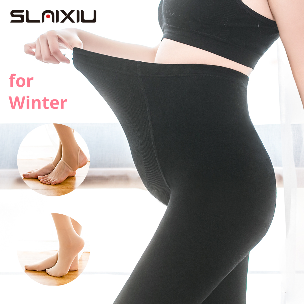 Pregnant Tights Maternity Pants Pregnant Women Clothes Nursing Pregnancy Stockings Adjustable High Elastic Leggings Pants