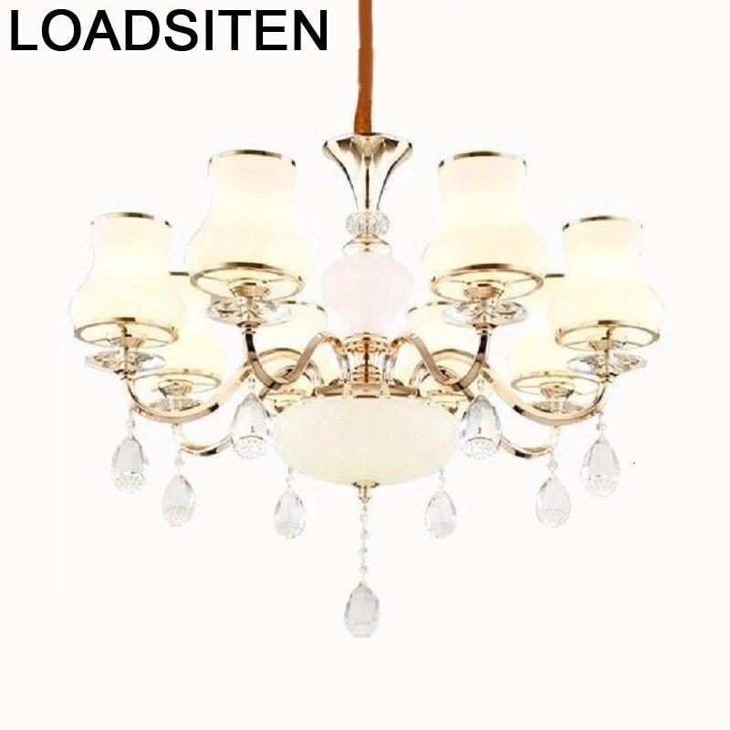 Décor Vintage lumière déco Cuisine Loft Cuisine Touw cristal Industrieel Suspension Lampen moderne Luminaire Suspendu Suspension