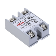 1pcs SSR-40DA 40A Solid State Relay Module 3-32V DC Input 24-380VAC new and original gjh40 w 3p jsr jicheng 3 phase solid state relay 40a 380vac