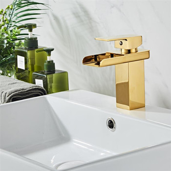Rose Gold Basin Faucet Modern Bathroom Sink Mixer Tap Brass Wash basin Faucet Single Handle Single Hole Crane For Bathroom 8