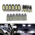 10/17 шт. идеальными белыми Canbus Error Free светодиодный лампа гирлянда для внутреннего купола Карта подвесной светильник комплект для Audi A6/C5 1997-2004 ...