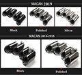 Пара наконечников глушителя наконечник выхлопной трубы для 14-18 Porsche Macan 2019 Porsche Macan выхлопные наконечники