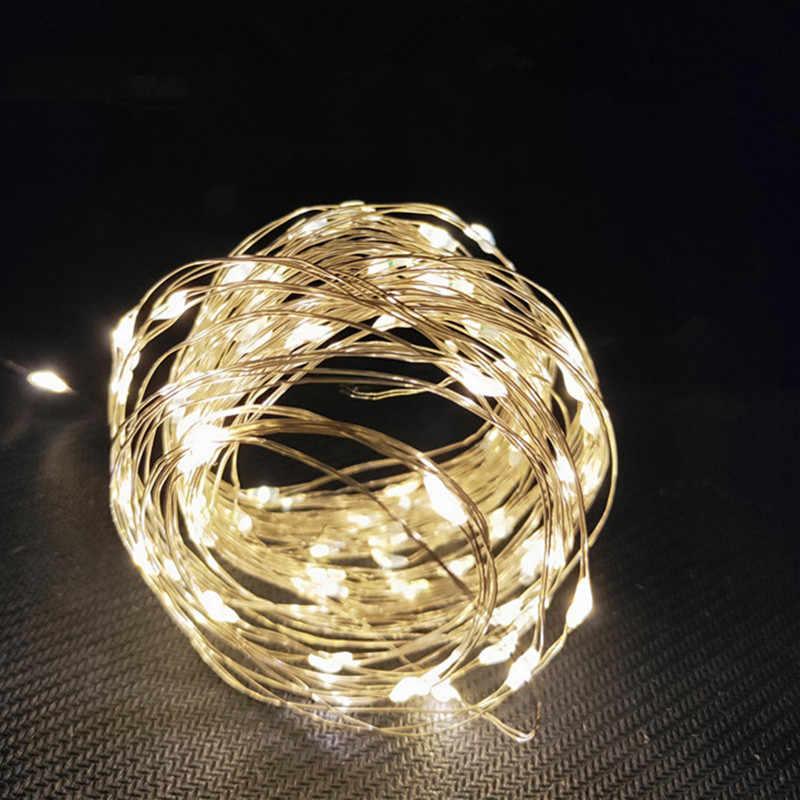 Fairy String Light Home Decor Kerst Guirlande Snaar Licht Kerst Decoraties Voor Huis Nieuwe Jaar Decoratie Navidad Gift