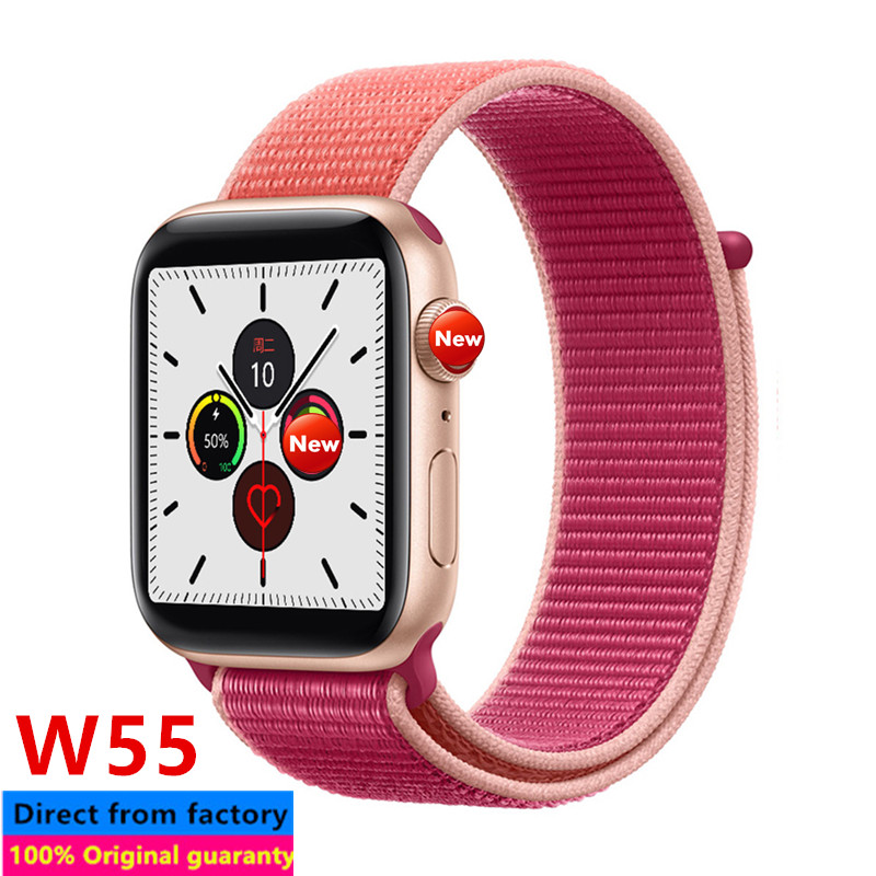 <font><b>iwo</b></font> 12 W55 smart watch series 5 40mm <font><b>44mm</b></font> Bluetooth iwo12 pro for apple ios android heart rate <font><b>smartwatch</b></font> pk <font><b>iwo</b></font> 11 pro <font><b>8</b></font> 13 9 image