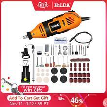 Hilda broca elétrica dremel moedor caneta de gravura mini broca elétrica ferramenta rotativa máquina moagem dremel acessórios ferramenta elétrica