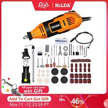 Hilda電気ドリルdremelグラインダー彫刻ペンミニドリル電動回転工具研削盤dremelアクセサリー電源ツール