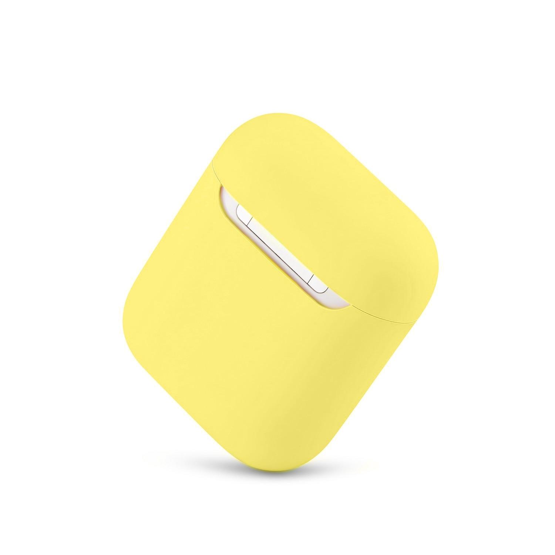 Casos de silicone macio para apple airpods 1/2 protetor bluetooth sem fio fone de ouvido capa para apple ar pods caixa de carregamento sacos 6