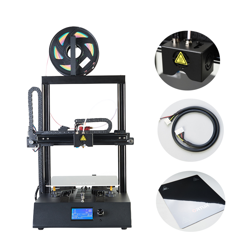 Ortur-4 Resume Printing Impresora 3d All Linear Guide Railway 3d Printer Industrial Level Filament End Sensor Imprimante 3d 2