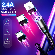 Type C USB Magnetic Cable Micro USB Charge Cable For iPhone Samsung Huawei xiaomi Magnet Charging Phone Mobile Fast Charger Cord magnetic adsorption usb charging cable micro type c lighting for iphone x fast charge charger cord for xiaomi mobile phone cable