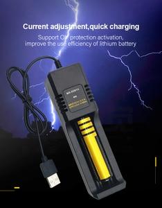 Image 5 - PUJIMAX 18650 バッテリー充電器 USB 2.0 スマート充電 26650 21700 14500 26500 22650 26700 リチウムイオン充電式バッテリー充電器