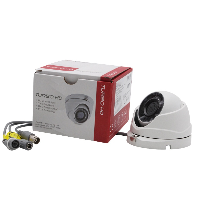 Original Hikvision 5MP Camera Home / Outdoor DS-2CE56H0T-ITMF  4 in 1 CVI / TVI / AHD / CVBS IP67 Infrared 20m