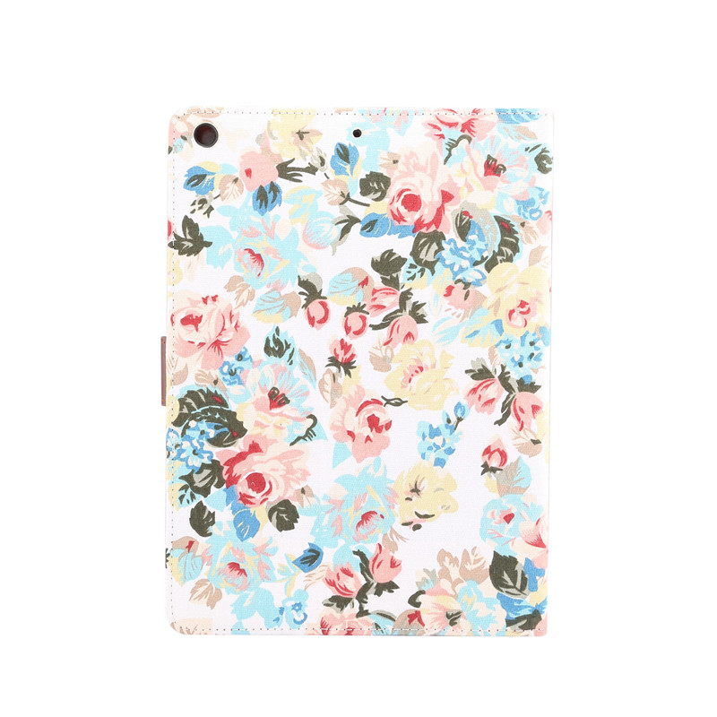 iPad A2198 Painted For Stand Case A2232 10.2 Cover 7th 2019 A2200 iPad Shell For Apple Flowers Skin Smart Funda Generation