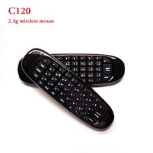C120 2.4 Ghz Wireless Keyboard Air Mouse Afstandsbediening Engels Oplaadbare Handheld Voor Gaming Smart Tv Box Pc(China)