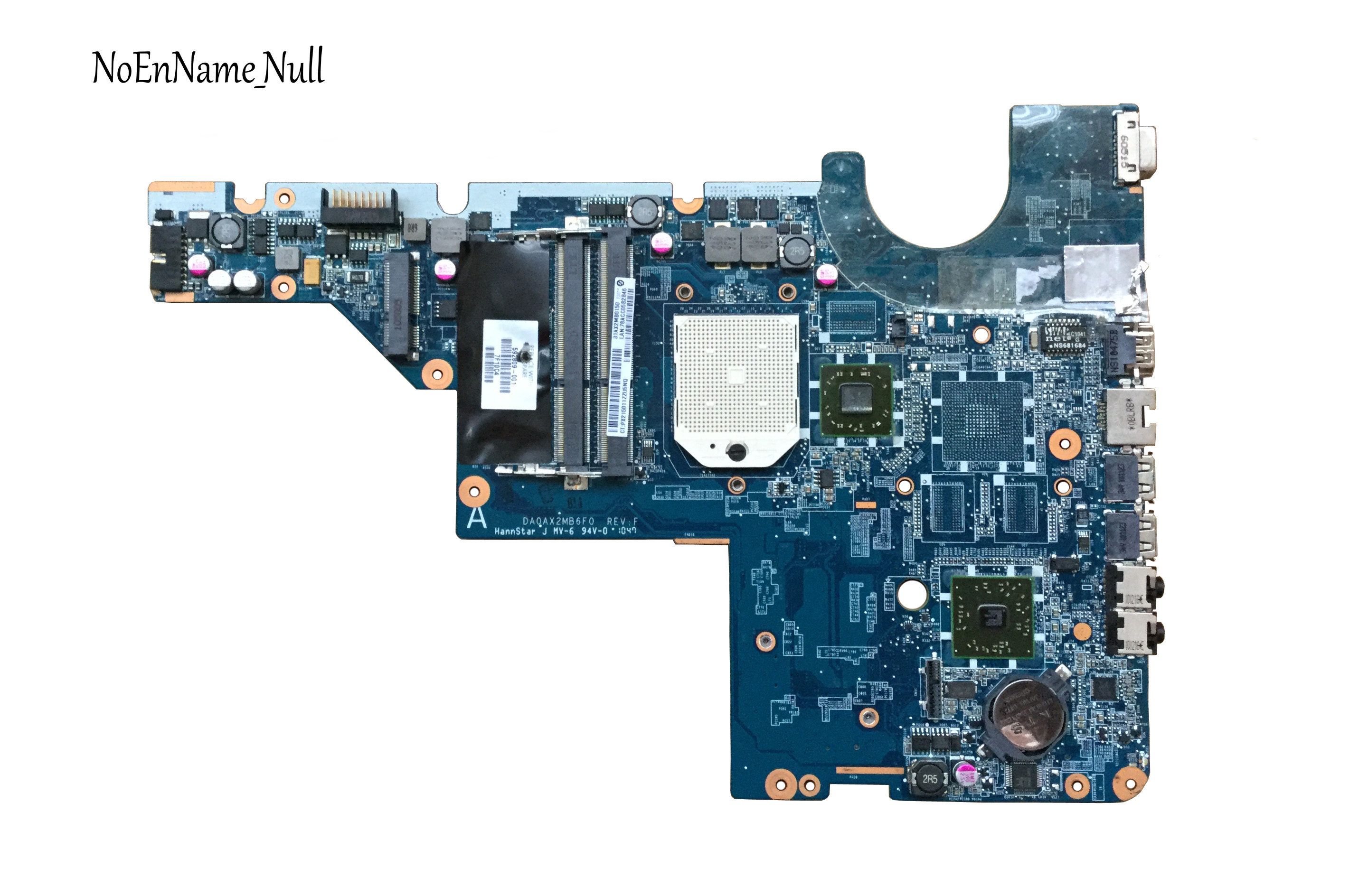 592809-001 For HP G62 CQ62 CQ42 G42 Motherboard DA0AX2MB6E0 DA0AX2MB6E1 DA0AX2MB6F0 DDR3 Maiboard 100% Test Fast Ship