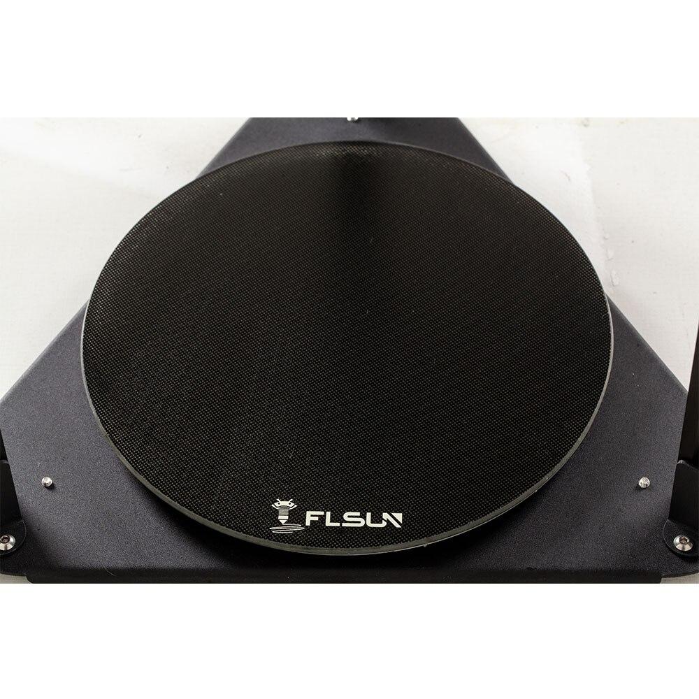FLSUN Q5 Hot-Bed 24V round Lattice Platform 215mm*215mm circular Kossel for FLSUN delta Q5 printer