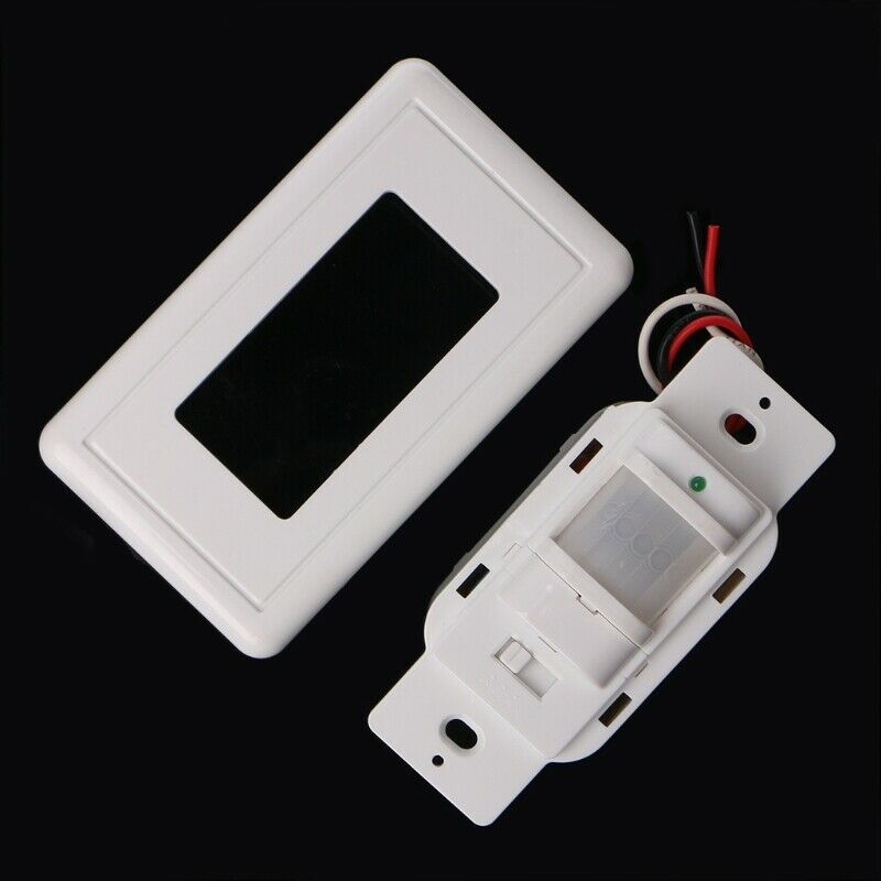 Smart PIR Motion Sensor Switch AC 85V - 230V Recessed Infrared Auto Control ON/Off Wall Switch Human Body Induction Detector