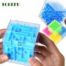 TOBEFU 3D Labyrinth Zauberwürfel Transparent Sechs-seitige Puzzle Geschwindigkeit Cube Rollende Kugel Spiel Cubos Labyrinth Spielzeug für Kinder pädagogisches cheap CN (Herkunft) Unisex 3 Jahre alt Kunststoff Sudoku-Rätsel Geometrische Form Color random 3D Cube Puzzle Exercise hand-brain coordination patience and attention