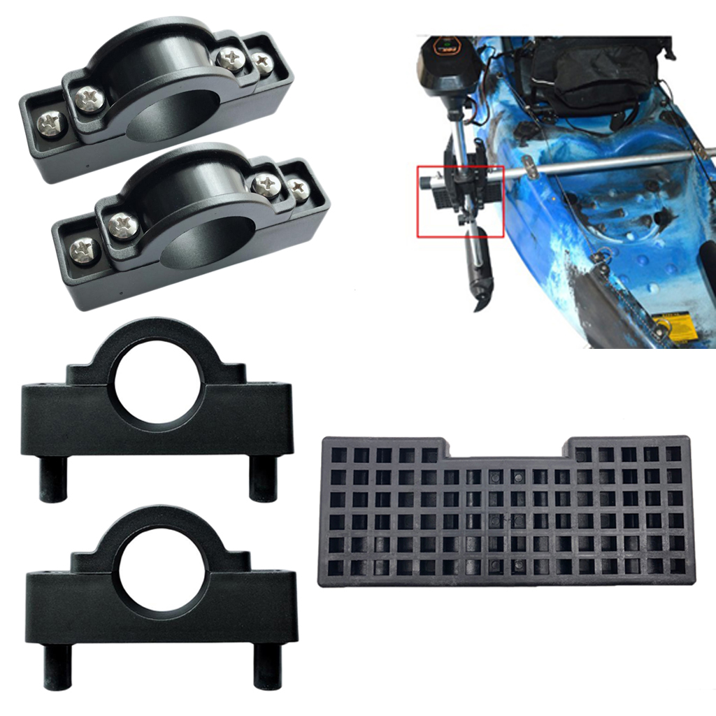 Nylon Kayak Motor Mount Holder Clip & Motor Engine Block Board For Kayak Canoe Marine Boat Fishing Dinghy Raft
