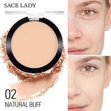 Sace Lady Foundation Poeder Matte Make Blijvende Olie Controle Compact Cosmetische Professinal Gezicht Make-Up Foundation Poeder Ons TSLM1