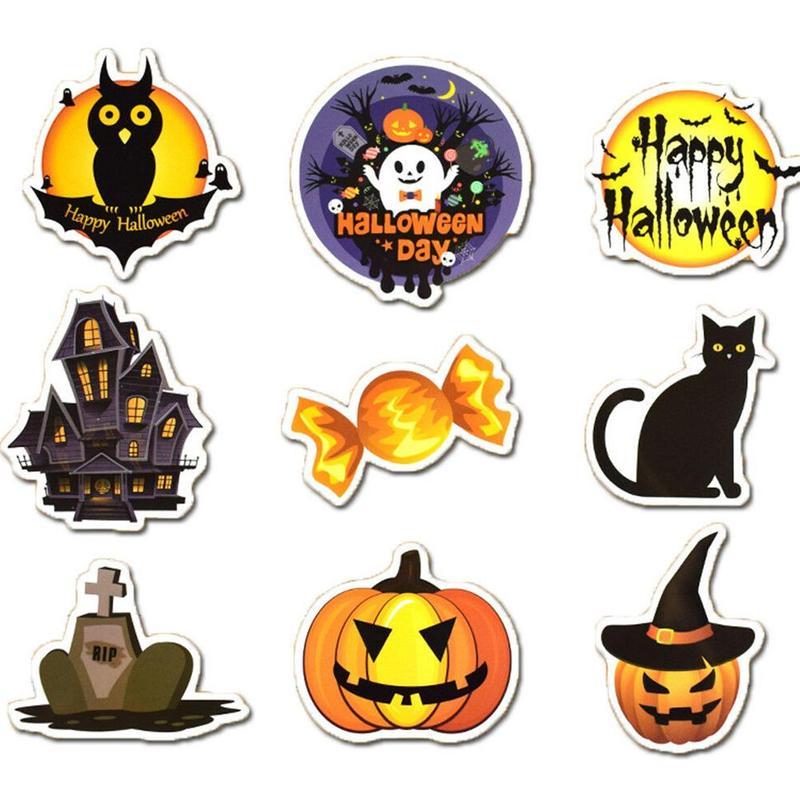 25Pcs Halloween Holiday Aufkleber Vinyl Aufkleber Lot für Kid Trick Party T O7V2