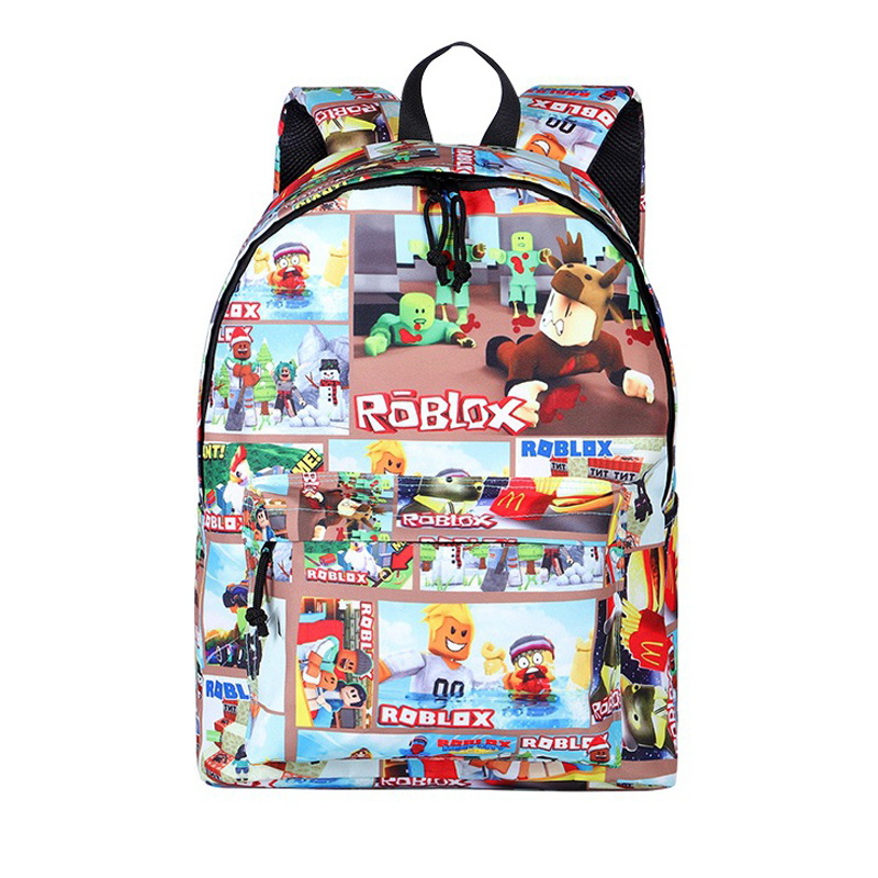 Nylon Backpack For Teenagers Kids Boys Children Student School Bags Unisex Laptop Backpack Travel Shoulder Bag