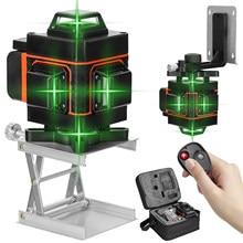 16 linee 4D Livello del Laser Livello Self-Leveling 360 Orizzontale E Verticale Croce Super Potente Laser Verde Livello