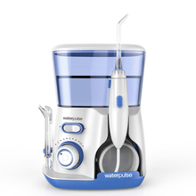 Waterpulse V300 800ML Dental Water Flosser 5pcs Nozzles Oral Floss Teeth Cleaner Irrigators 3 Colors