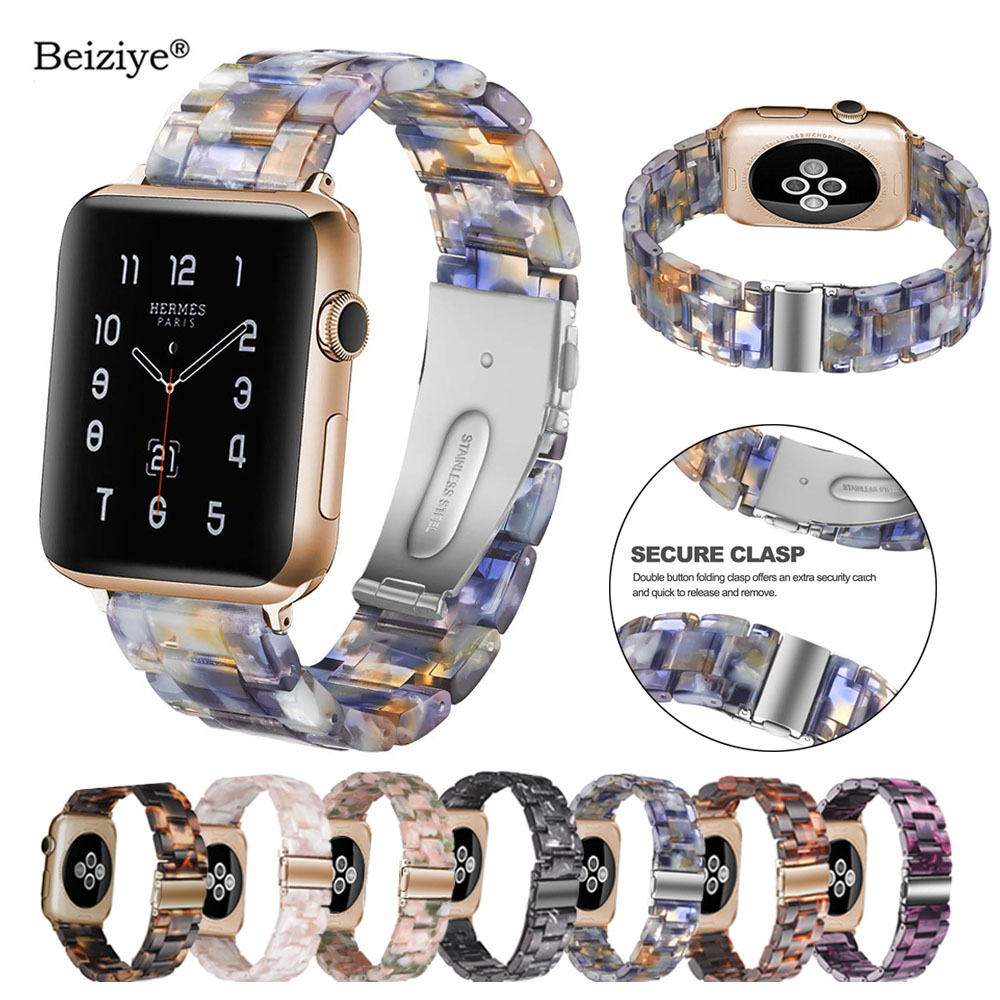 <font><b>Watch</b></font> Strap For <font><b>Apple</b></font> <font><b>Watch</b></font> Series 5 3 <font><b>2</b></font> 1 <font><b>42mm</b></font> 38mm Bracelet <font><b>Pulseira</b></font> Correas <font><b>Watch</b></font> band For <font><b>Apple</b></font> <font><b>Watch</b></font> Series 4 40mm 44mm image