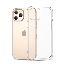 Shockproof Silicone Clear Case For iPhone 12 Mini 11 Pro Xs Max X XR Transparent Soft Case For iPhone Se 2020 7 8 6s 6 Plus 5 5s