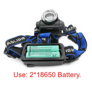 Image 2 - Portable zooming xml t6 L2 V6 Led Head lamp ZOOM Fishing headlight Camping Headlamp Hiking Flashlight  Bicycle light torch