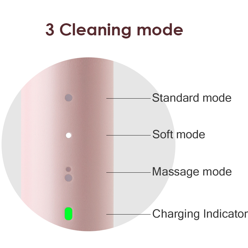 PINJING sonic electric toothbrush ultrasonic toothbrush rechargeable IPX waterproof rinse xiaomi ecological chain product 5