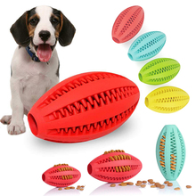 Dog Training ball Toy Extra-tough Rubber Ball Chew Pet Food Dispenser Leaking Tumbler D35