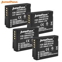 Powtree 1300mAh Rechargeable Batteries for Panasonic Lumix DMW BCG10 BCG10E DMC-3D1 DMC-TZ7 DMC-TZ8 DMC-TZ10 DMC-TZ18 DMCTZ19 free shipping 95%new for panasonic lumix dmc fz70 fz70 top cover shutter board pcb part