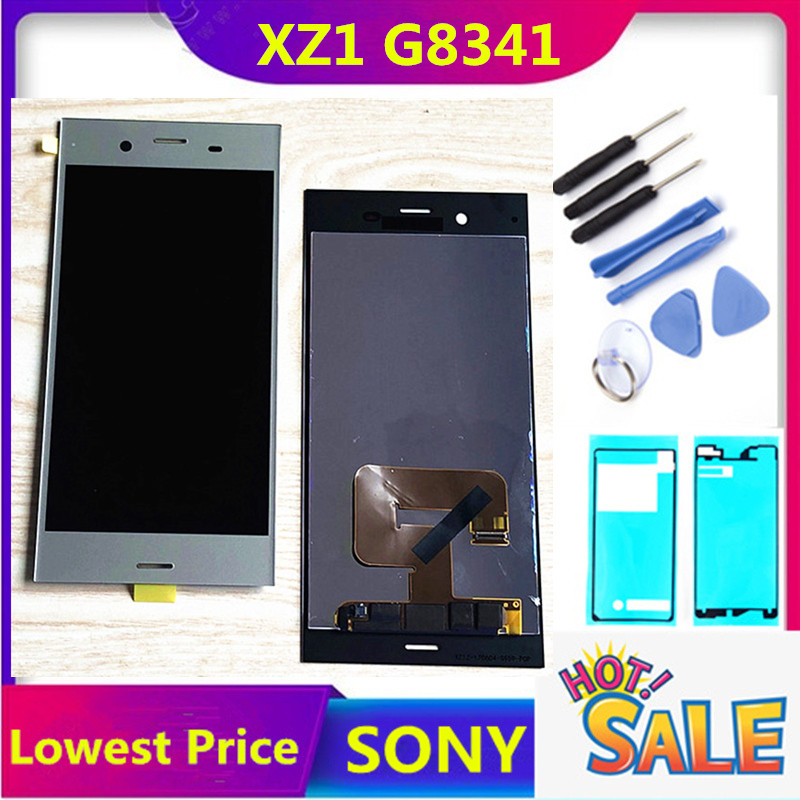 """5.2"""" HTZF LCD for SONY Xperia XZ1 Display Touch Screen Replacement for SONY XZ1 Dual LCD Display Module XZ1 G8341 G8342 LCD(China)"""