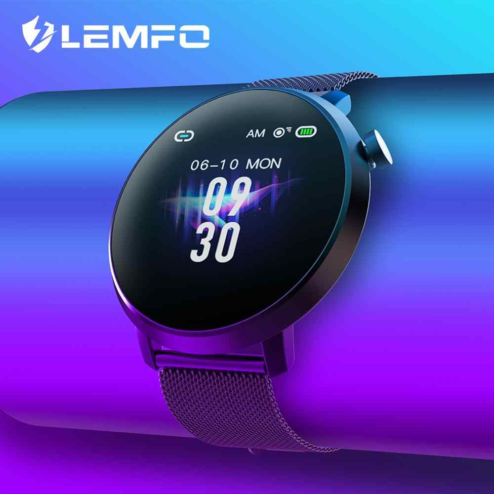 LEMFO Smart Watch C10 IP68 Waterproof Heart Rate Blood Pressure Monitor Smart Watches Men Women Fitness Tracker for Android IOS