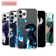 Transparent Silicone Soft TPU Cover Anime My Hero Academia  For iPhone 11 Pro XS MAX XR X 8 7 6S 6 Plus 5S Phone Case for iphone 11 my hero academia soft silicone transparent phone case for apple iphone 8 7 6 6s plus x xs max 5 5s se xr cover
