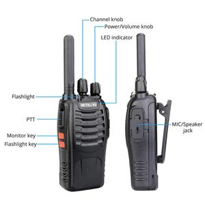 Image 2 - Retevis H777 Plus H777 Cheap Walkie Talkie 10pcs PMR Radio PMR446 FRS USB Charger Handy Two Way Radio Hotel Restaurant Warehouse