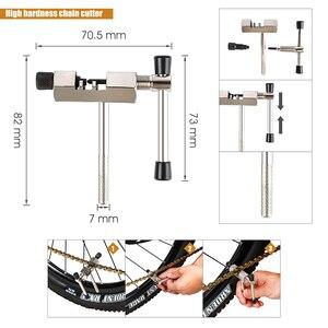 Image 4 - Multifunktionale Fahrrad Reparatur Werkzeug Kits Kette Breaker Schwungrad Remover Kurbel Puller Schlüssel MTB Rennräder Wartung Werkzeuge