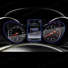 цена на Lsrtw2017 Car Dashboard Screen Protective Film Anti-scratch Sticker for Mercedes Benz C Class W205 GLC X253 C253 2014-2019