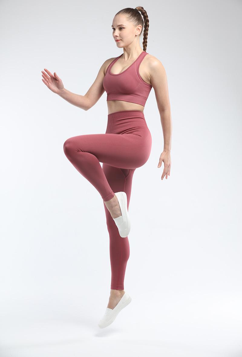 Брюки для йоги mindstream бесшовные эластичные леггинсы с завышенной
