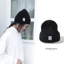 Женская шапка бини для осени зимы, женская вязаная шапка бини, шапка без полей, шапка для девочек, шапка с черепом для женщин
