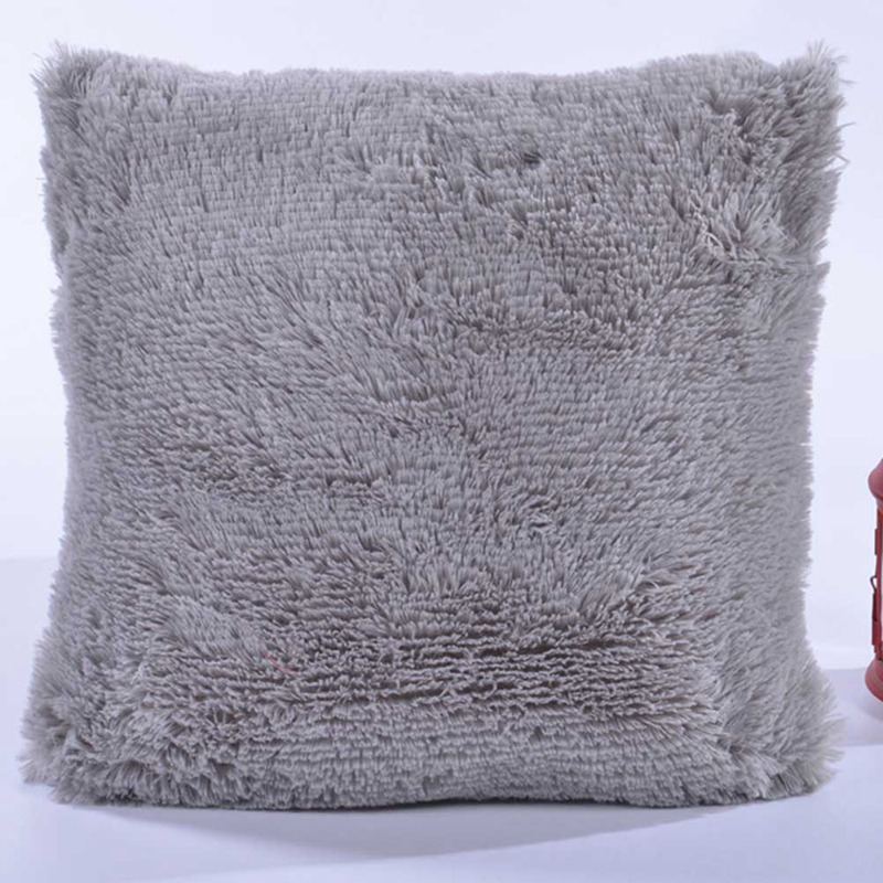 Luxury Fluffy Cushion Covers Furry Scatter Decorative Soft Pillow Case Plush EL